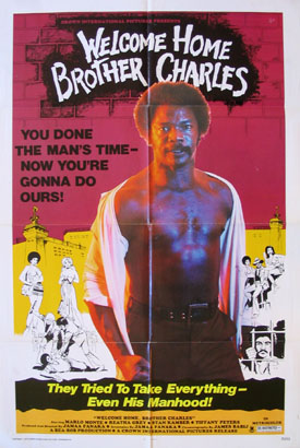 WELCOME HOME BROTHER CHARLES @ FilmPosters.com