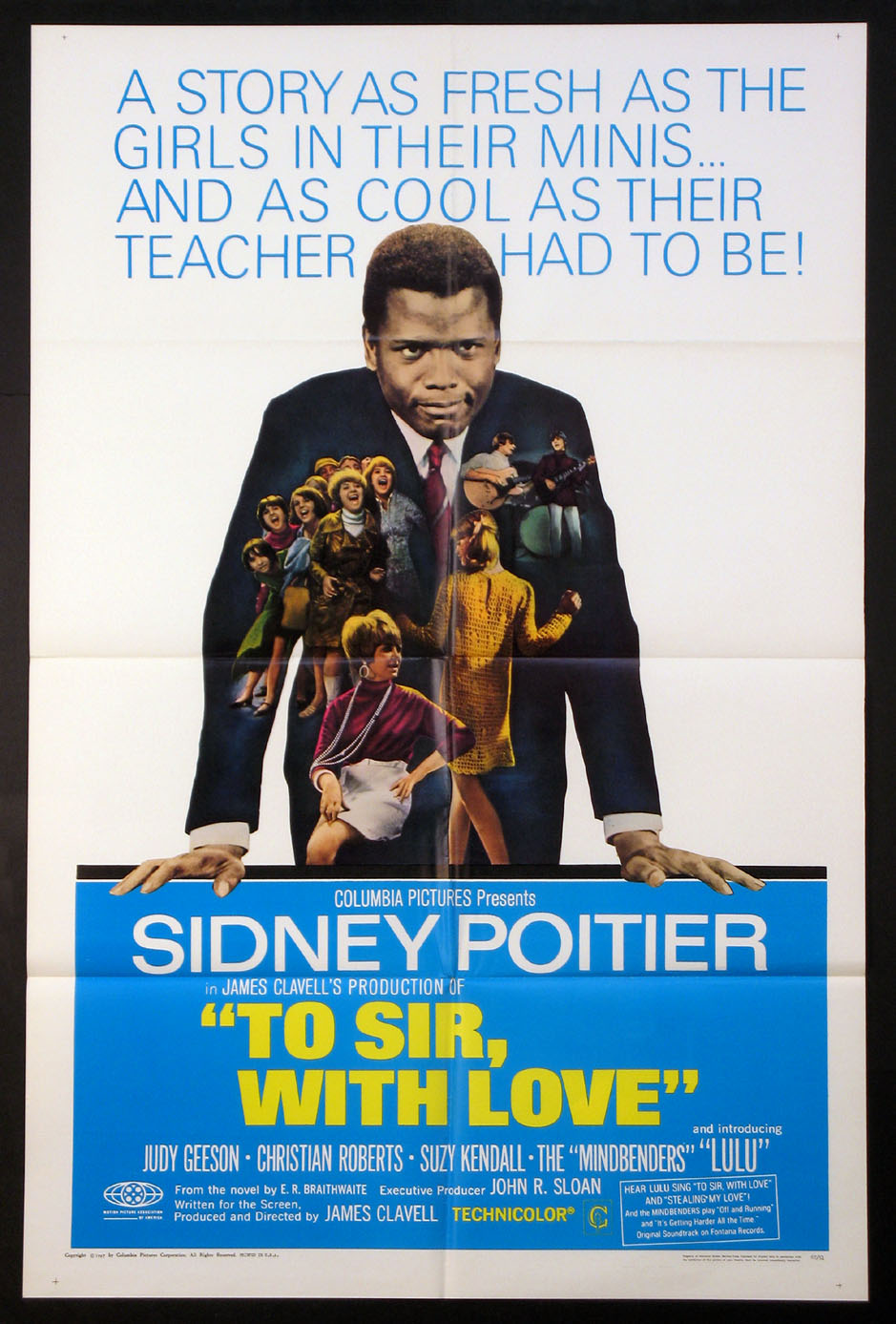 TO SIR, WITH LOVE (To Sir With Love) @ FilmPosters.com