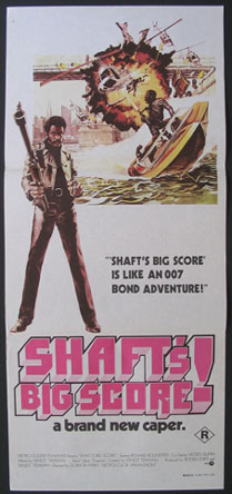 SHAFT'S BIG SCORE @ FilmPosters.com