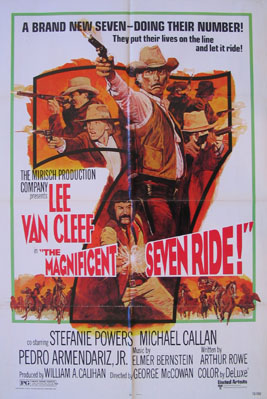 MAGNIFICENT SEVEN RIDE @ FilmPosters.com