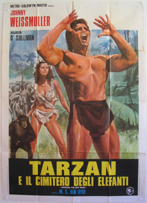 TARZAN, THE APE MAN (Tarzan the Ape Man) @ FilmPosters.com