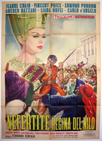 NEFERTITI, QUEEN OF THE NILE  (Nefertiti Regina del Nilo) @ FilmPosters.com