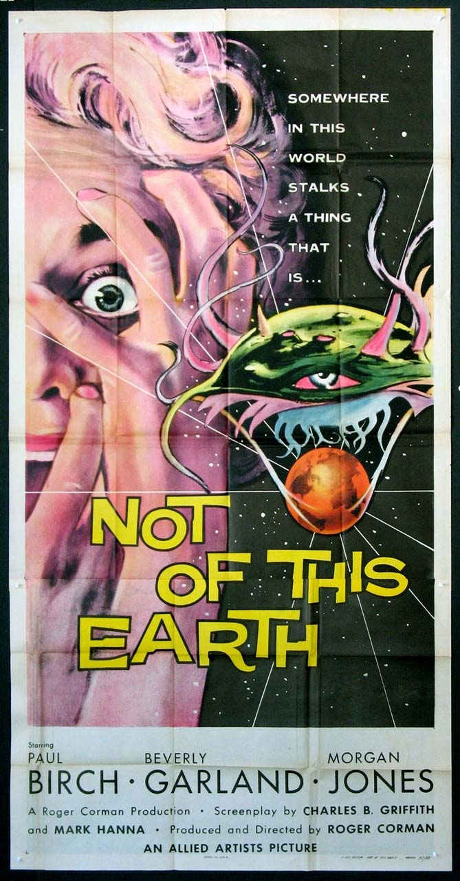 NOT OF THIS EARTH @ FilmPosters.com