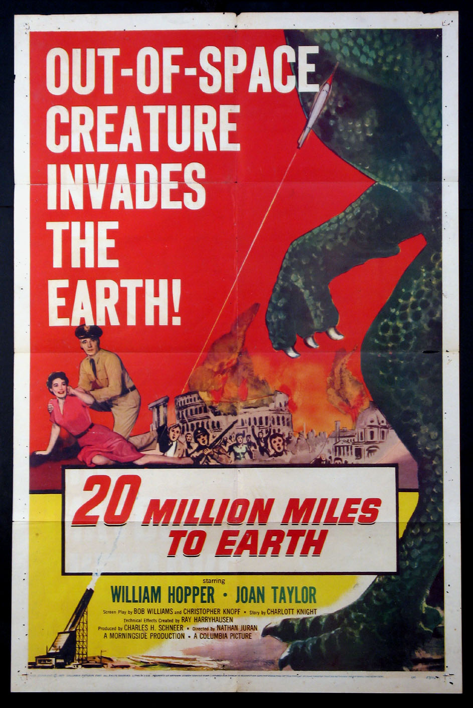 TWENTY MILLION MILES TO EARTH (20 Million Miles to Earth) @ FilmPosters.com