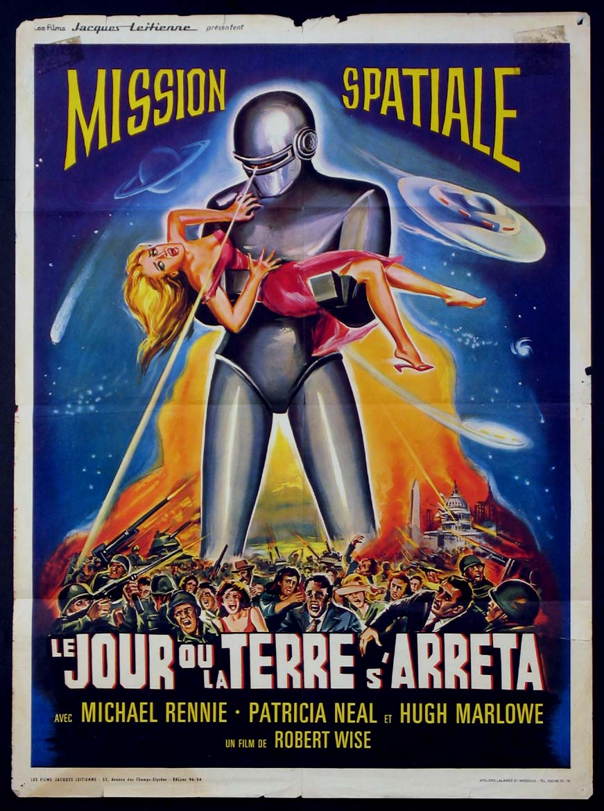 DAY THE EARTH STOOD STILL @ FilmPosters.com