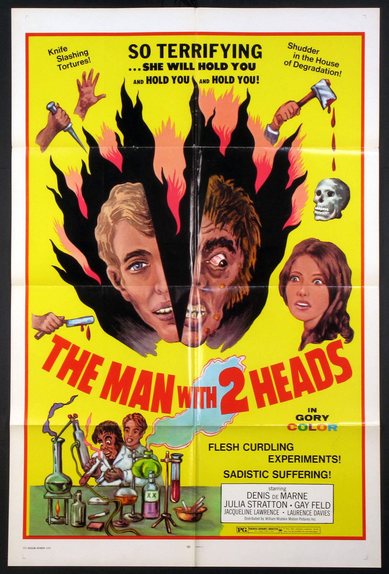 MAN WITH TWO HEADS @ FilmPosters.com