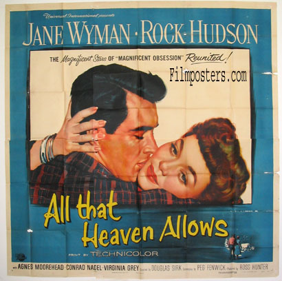 ALL THAT HEAVEN ALLOWS @ FilmPosters.com