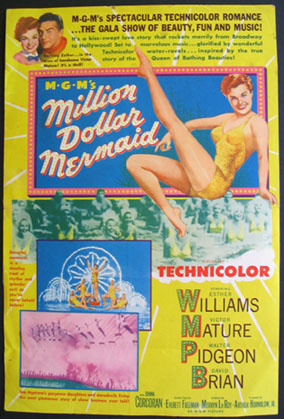 MILLION DOLLAR MERMAID @ FilmPosters.com