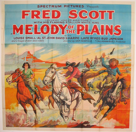 MELODY OF THE PLAINS @ FilmPosters.com