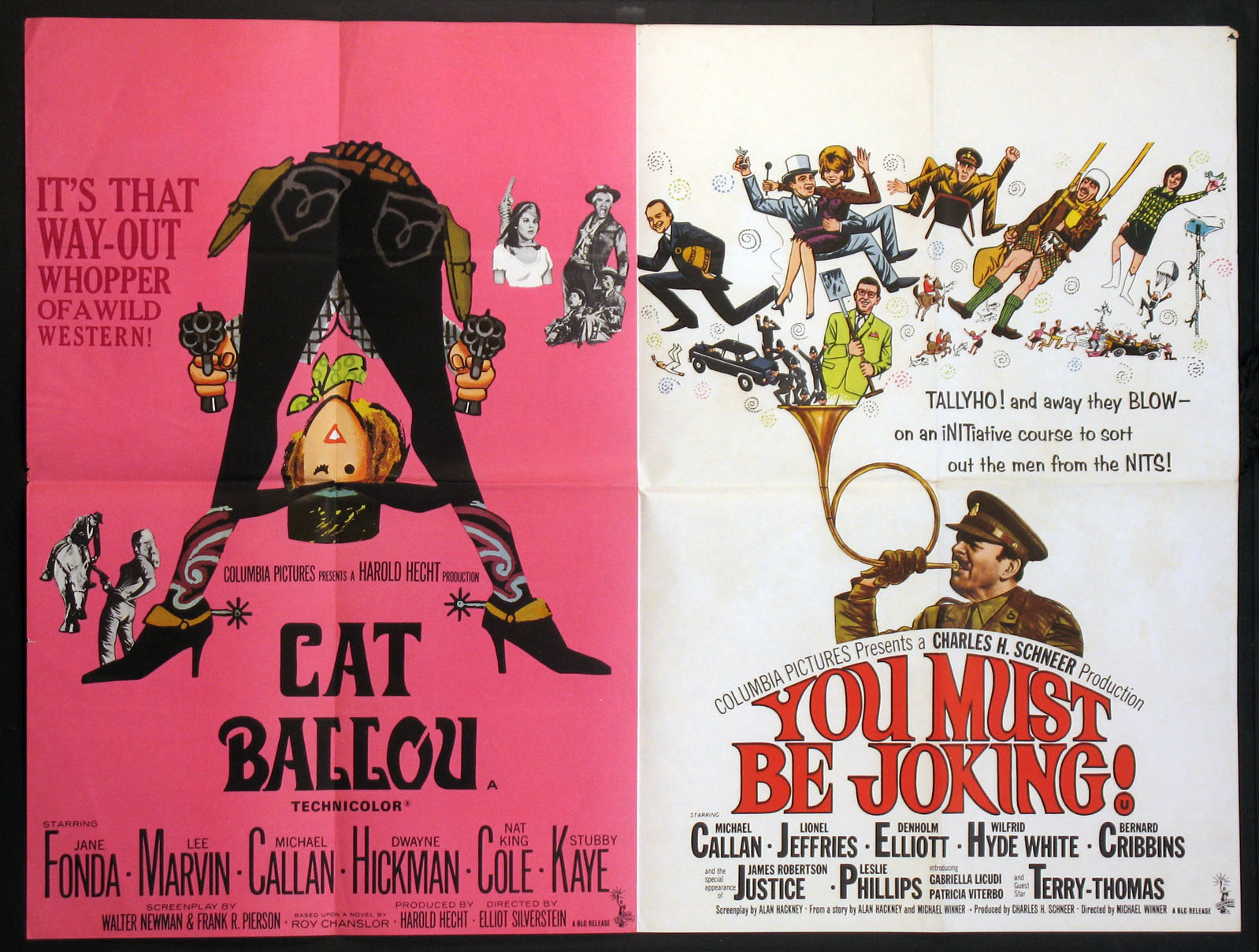 CAT BALLOU / YOU MUST BE JOKING @ FilmPosters.com