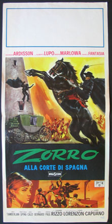 ZORRO IN THE COURT OF SPAIN (Zorro Alla Corte di Spagna) @ FilmPosters.com
