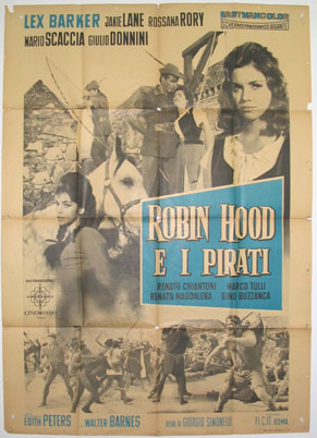 ROBIN HOOD AND THE PIRATES @ FilmPosters.com