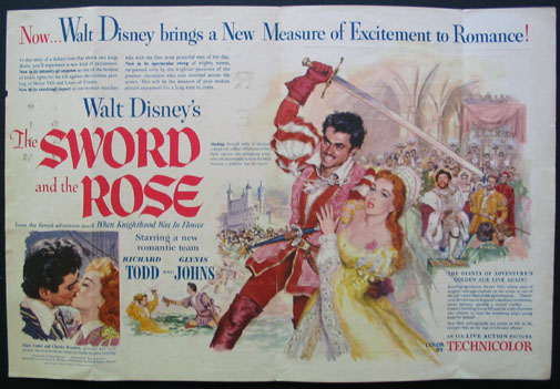 SWORD AND THE ROSE @ FilmPosters.com
