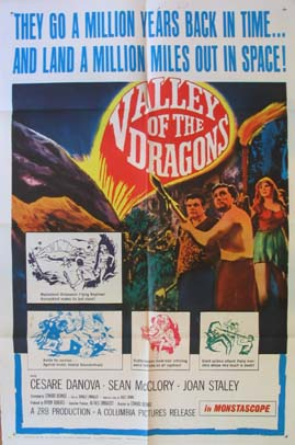 VALLEY OF THE DRAGONS @ FilmPosters.com