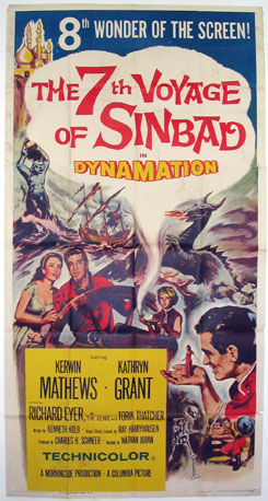 SEVENTH VOYAGE OF SINBAD (7th Voyage of Sinbad) @ FilmPosters.com