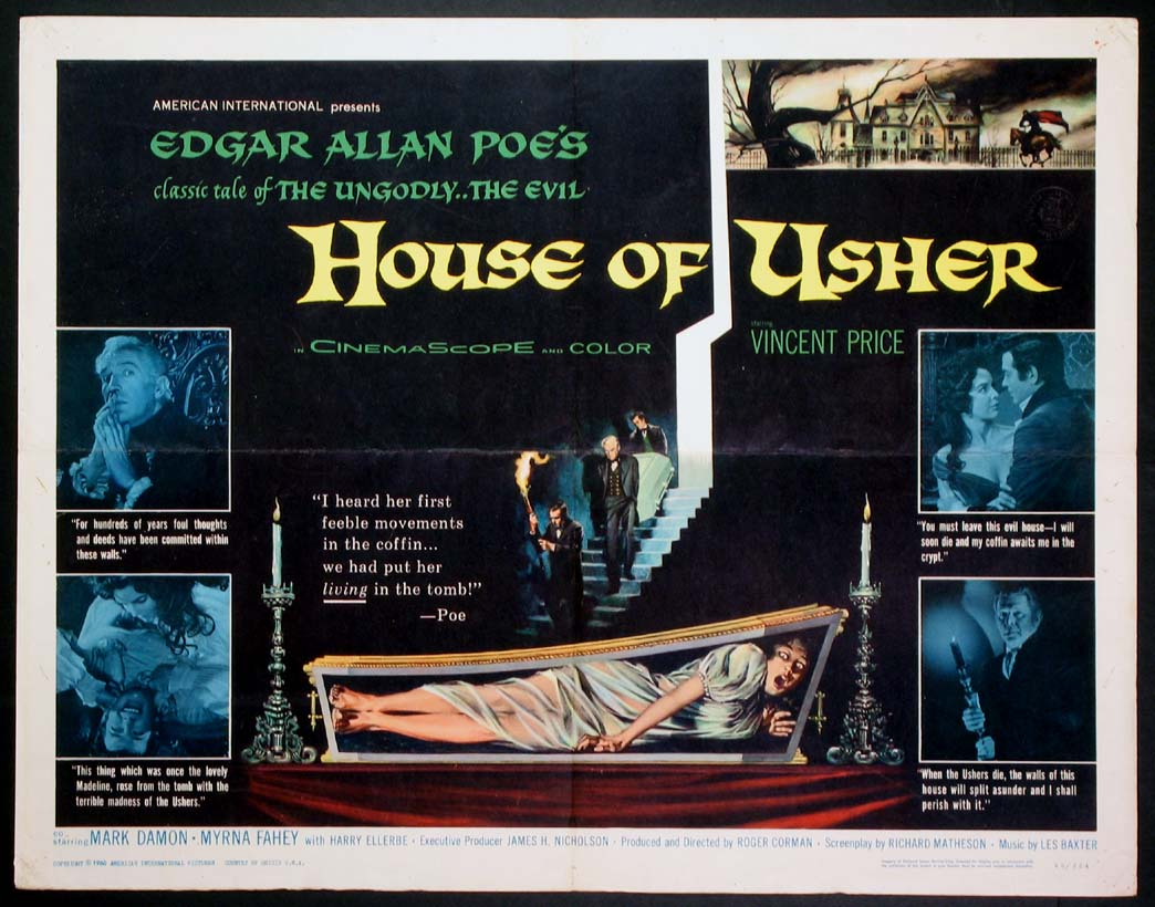 HOUSE OF USHER, THE @ FilmPosters.com
