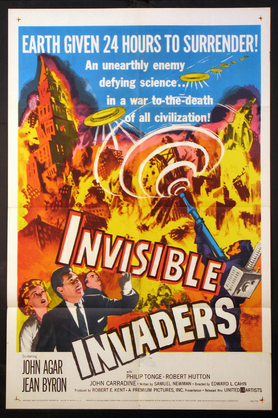 INVISIBLE INVADERS @ FilmPosters.com