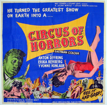 CIRCUS OF HORRORS @ FilmPosters.com
