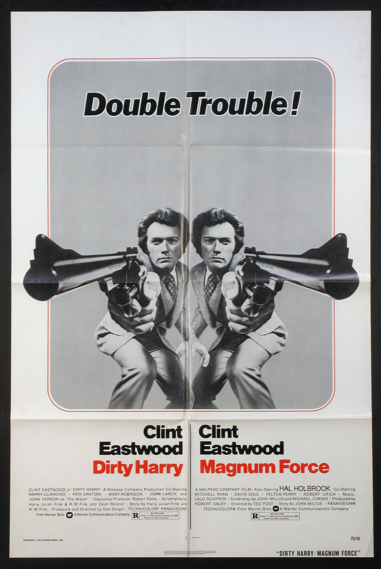DIRTY HARRY / MAGNUM FORCE @ FilmPosters.com