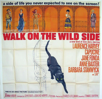 WALK ON THE WILD SIDE @ FilmPosters.com