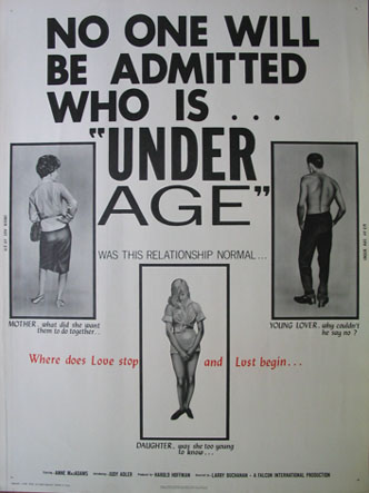 UNDER AGE @ FilmPosters.com