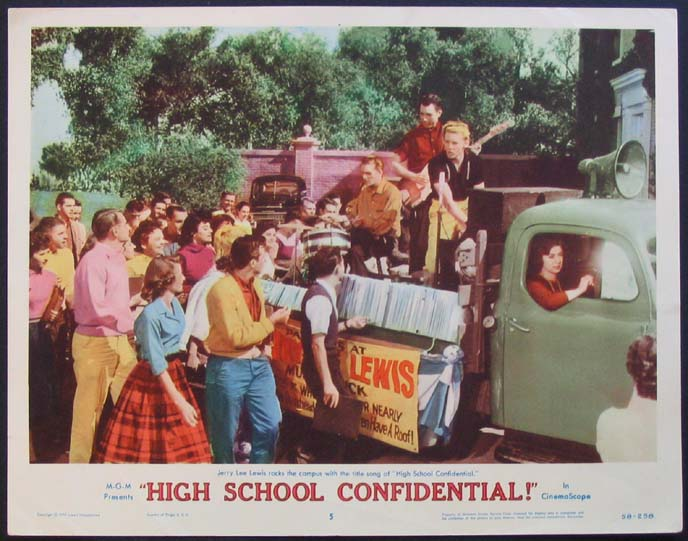 HIGH SCHOOL CONFIDENTIAL @ FilmPosters.com