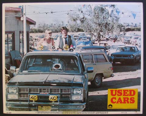 Used Cars Movie Poster 1980