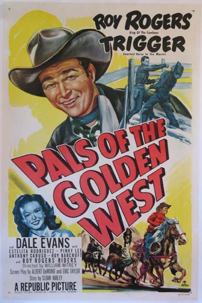 PALS OF THE GOLDEN WEST @ FilmPosters.com