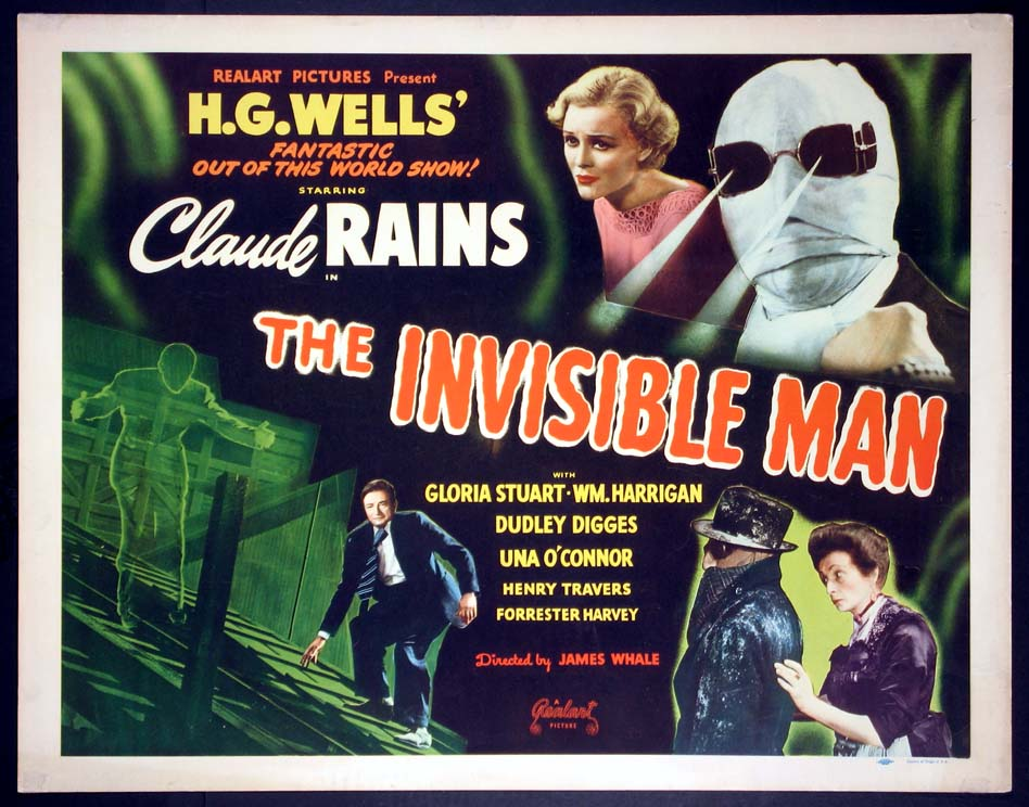 INVISIBLE MAN, THE @ FilmPosters.com
