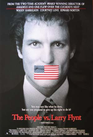PEOPLE VS. LARRY FLYNT @ FilmPosters.com