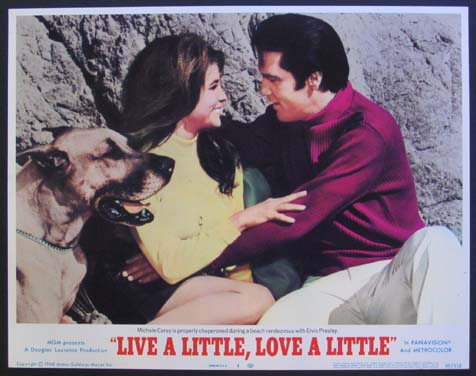 LIVE A LITTLE, LOVE A LITTLE @ FilmPosters.com