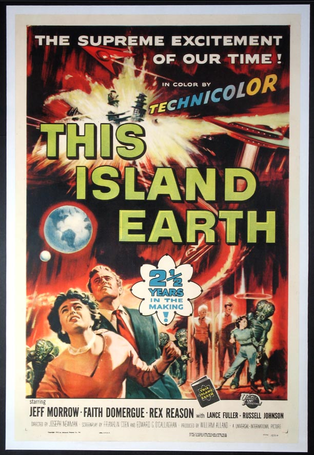 THIS ISLAND EARTH @ FilmPosters.com