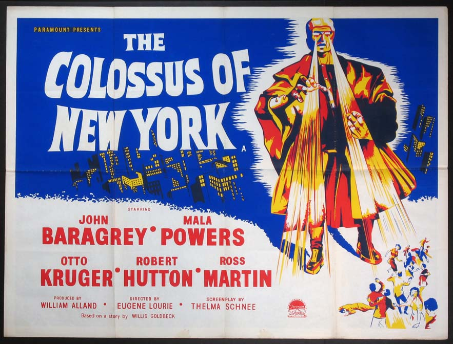 COLOSSUS OF NEW YORK @ FilmPosters.com