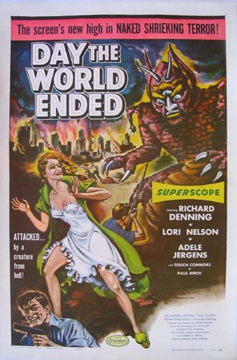 DAY THE WORLD ENDED @ FilmPosters.com