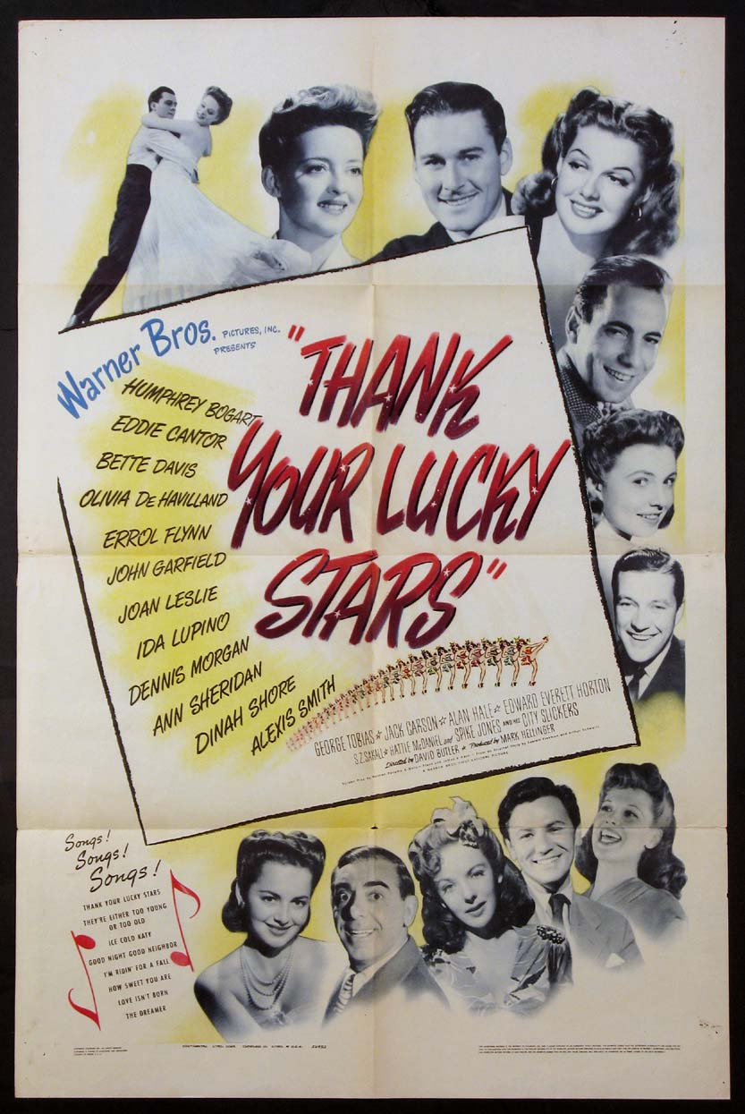 THANK YOUR LUCKY STARS @ FilmPosters.com