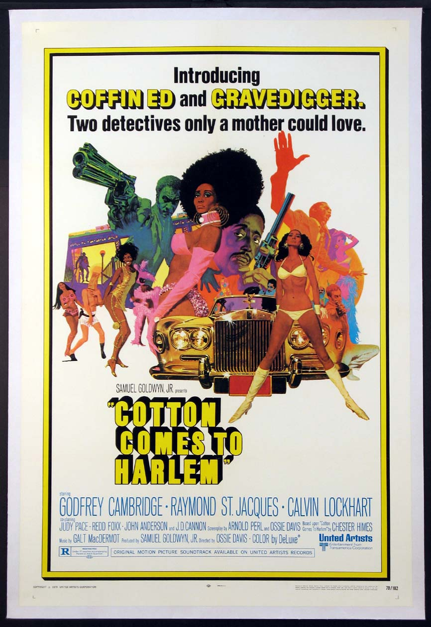 COTTON COMES TO HARLEM @ FilmPosters.com