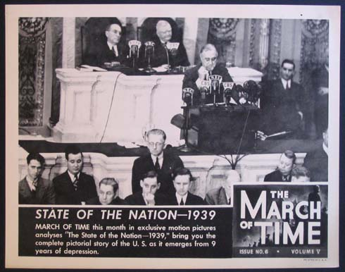 STATE OF THE NATION 1939. MARCH OF TIME: NEWSREEL @ FilmPosters.com